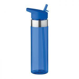 Sticla tritan albastra mo9227 BPA free 650 ml personalizare gravura laser tampografie, sticker