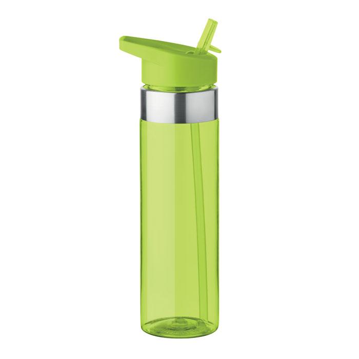 Sticla tritan verde lime mo9227 BPA free 650 ml personalizare gravura laser tampografie, sticker