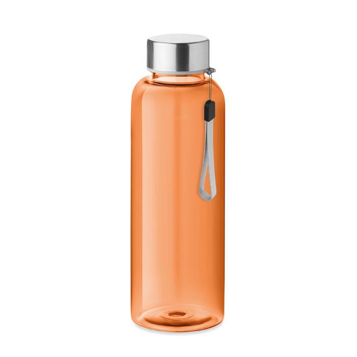 Sticla tritan portocalie mo9356 BPA free 500 ml personalizare gravura laser tampografie, sticker
