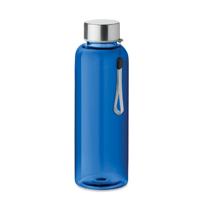 Sticla tritan albastra mo9356 BPA free 500 ml personalizare gravura laser tampografie, sticker