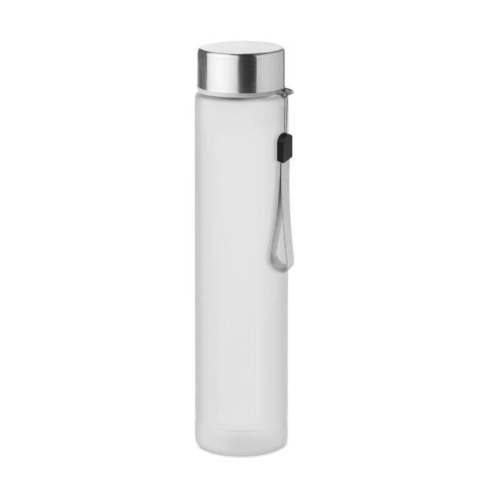 Sticla tritan alba mo9357 BPA free 300 ml personalizare gravura laser tampografie, sticker