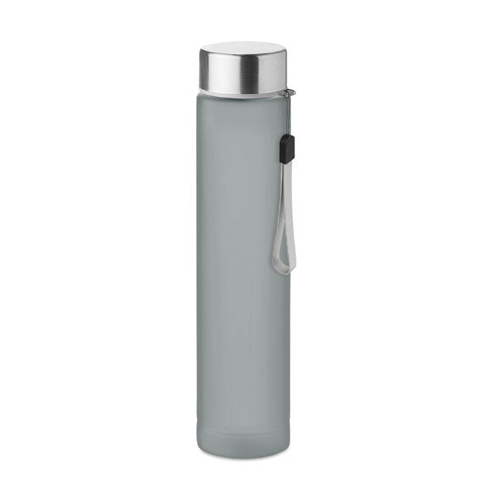 Sticla tritan gri mo9357 BPA free 300 ml personalizare gravura laser tampografie, sticker