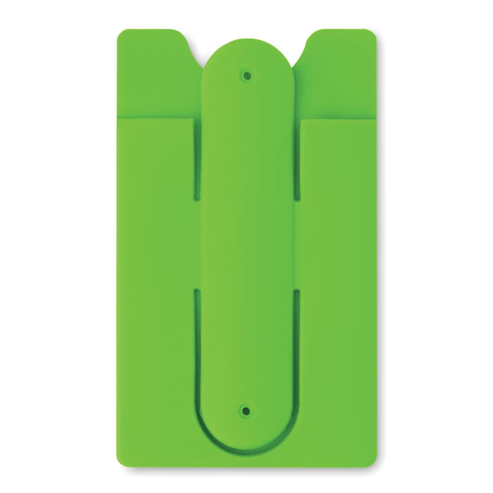 Port card RFID verde lime mo9685 silicon protectie banda adeziv 3M personalizare tampografie