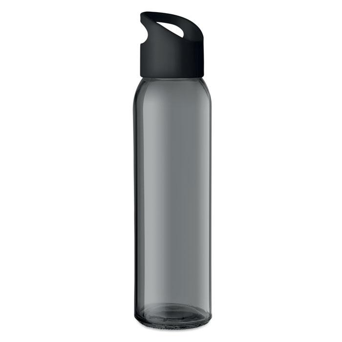 Sticla neagra mo9746 470 ml personalizare gravura laser tampografie, sticker