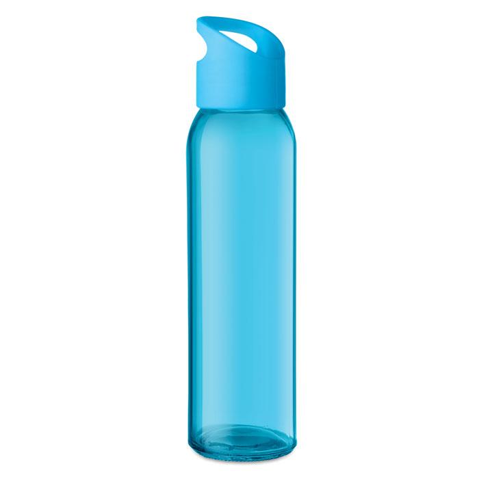 Sticla turquoise mo9746 470 ml personalizare gravura laser tampografie, sticker