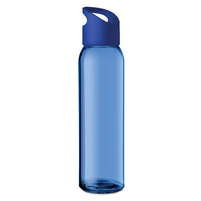 Sticla albastra mo9746 470 ml personalizare gravura laser tampografie, sticker