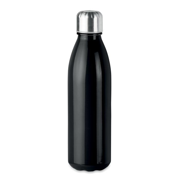 Sticla neagra mo9800 650 ml personalizare gravura laser tampografie, sticker