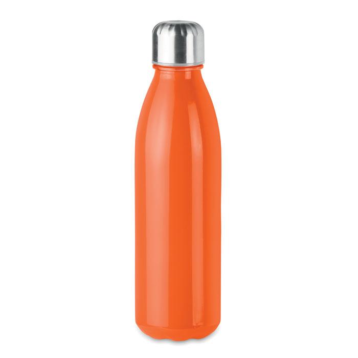 Sticla portocalie mo9800 650 ml personalizare gravura laser tampografie, sticker