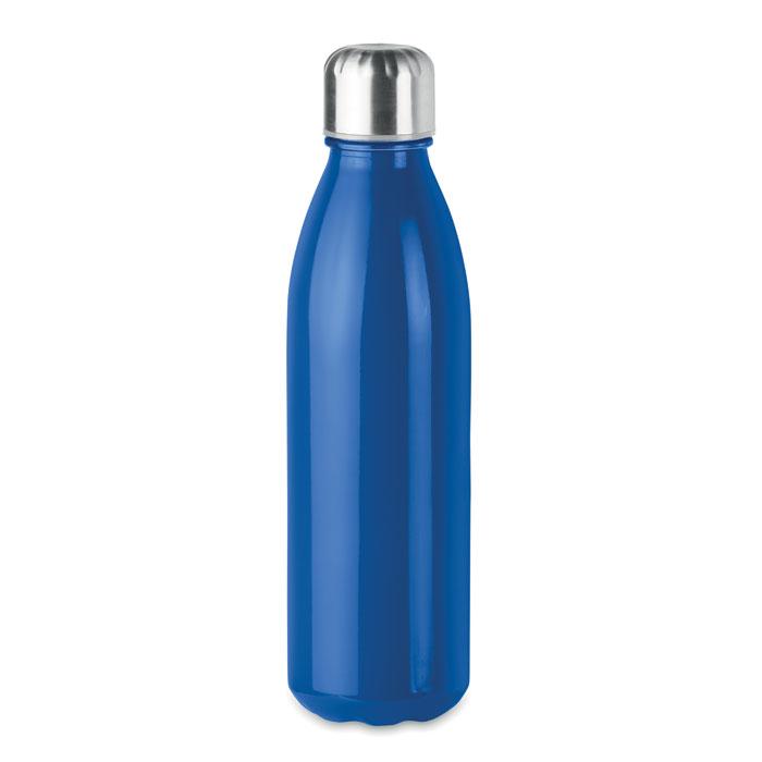 Sticla albastra mo9800 650 ml personalizare gravura laser tampografie, sticker