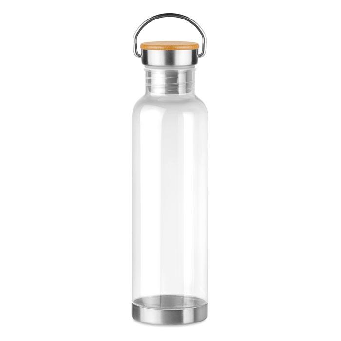 Sticla tritan alba mo9850 BPA free 800 ml personalizare gravura laser tampografie, sticker