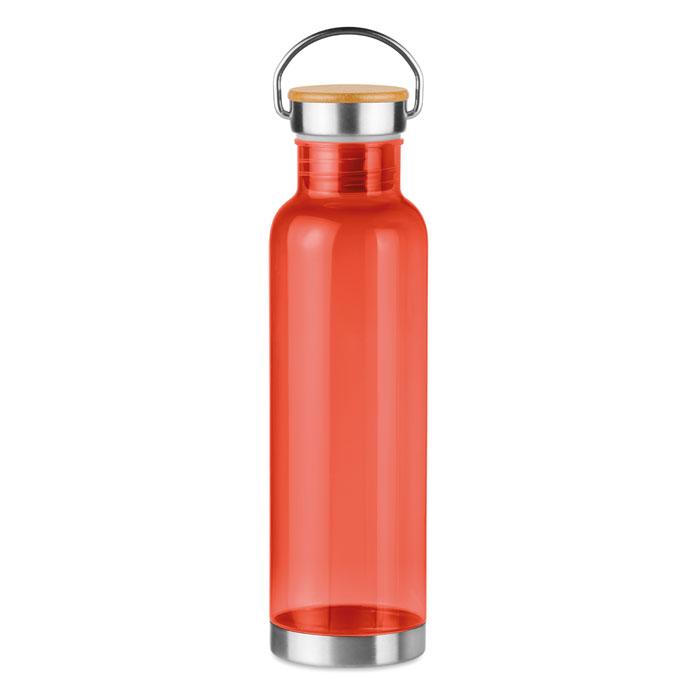 Sticla tritan rosie mo9850 BPA free 800 ml personalizare gravura laser tampografie, sticker