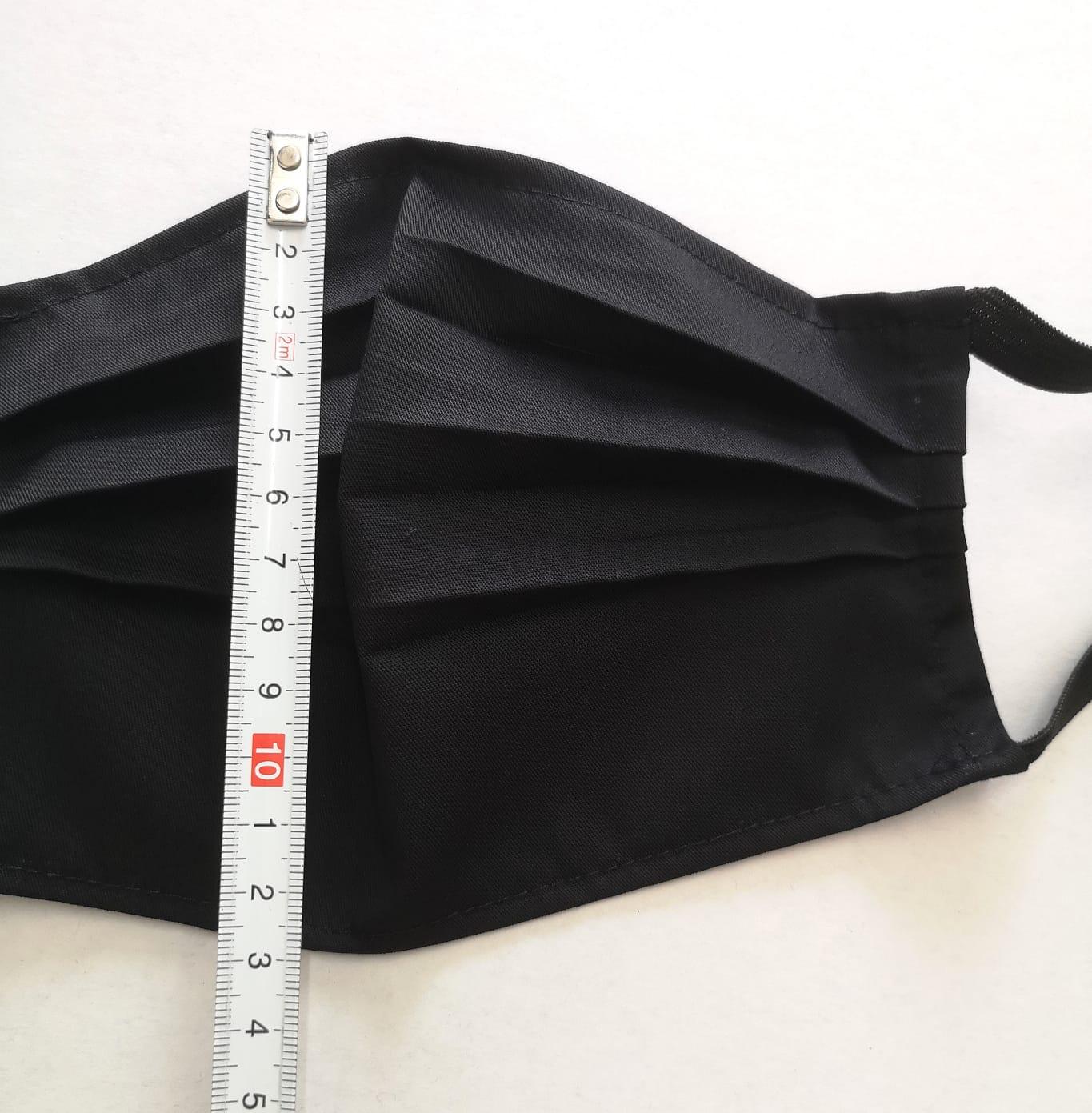 Masca reutilizabila foarte rezistenta neagra set
