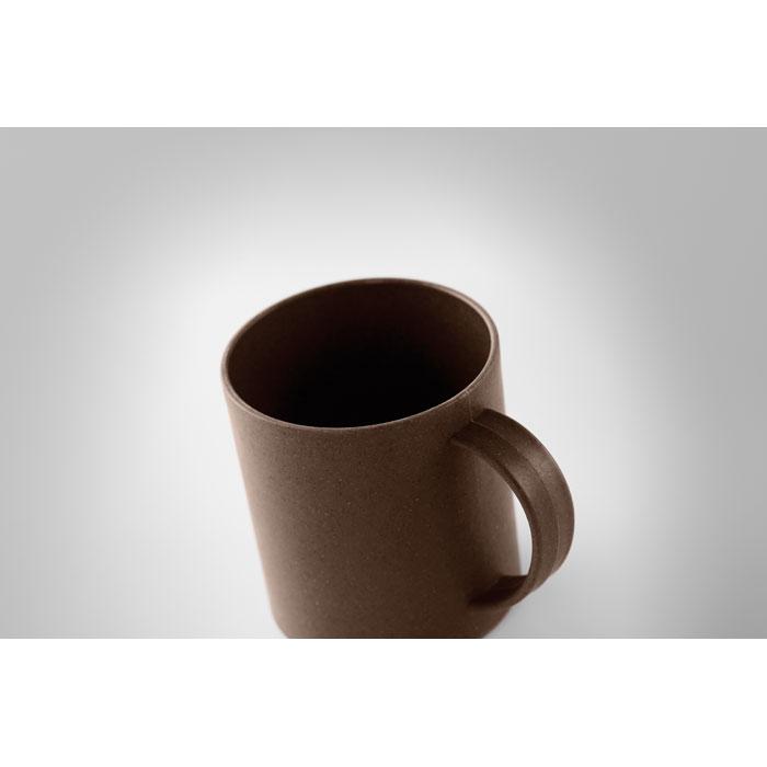 Cana din coji de cafea mo6107 eco-friendly tampografie | Toroadv.ro