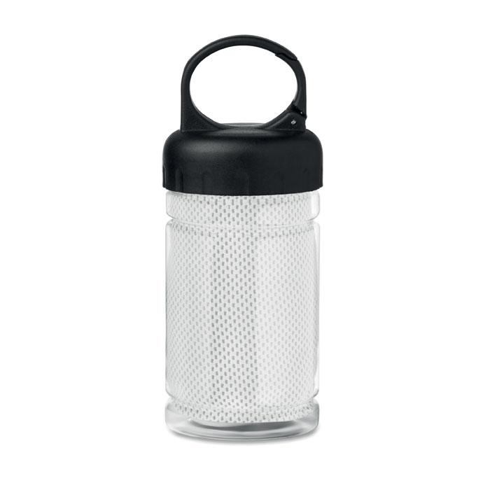 Sticla si prosop microfibra mo9203 alb 300 ml serigrafie broderie | Toroadv.ro