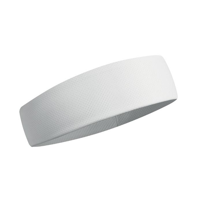Banda cap alba mo9462 absorbanta transpiratie poliester sport | Toroadv.ro