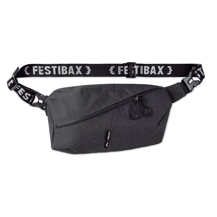 Borseta Festibax basic neagra mo9906 geanta festival anti-furt, serigrafie, termotransfer | Toroadv.ro