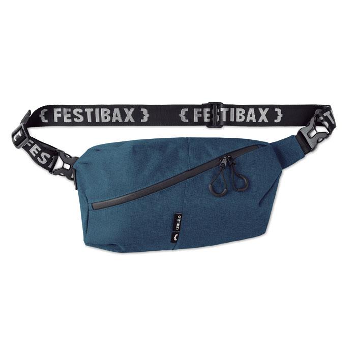 Borseta Festibax basic albastra mo9906 geanta festival anti-furt, serigrafie, termotransfer | Toroadv.ro