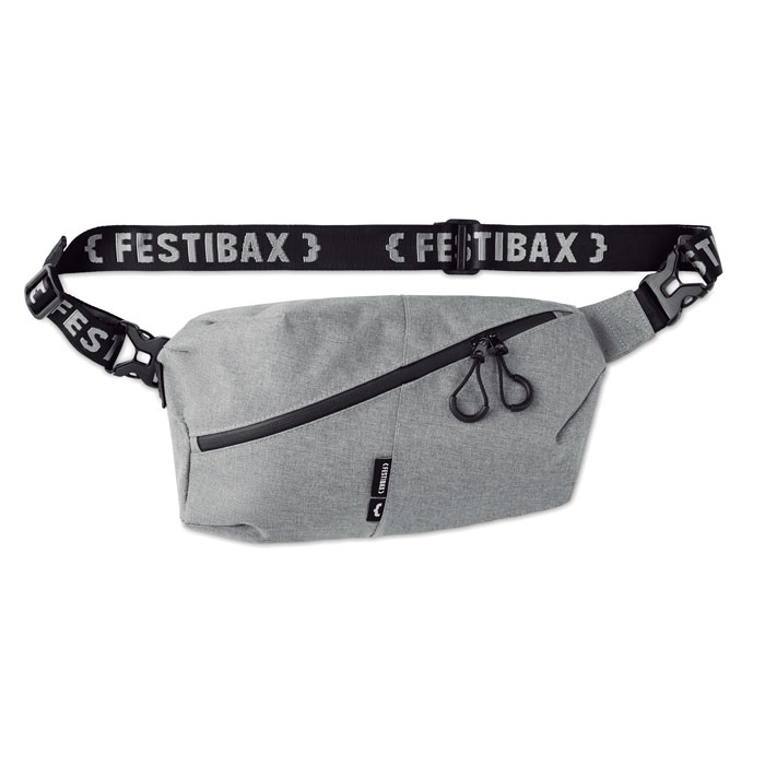 Borseta Festibax basic gri mo9906 geanta festival anti-furt, serigrafie, termotransfer | Toroadv.ro